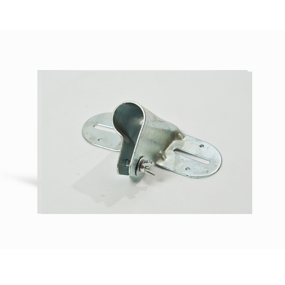 Metal Flat Back Brush Socket