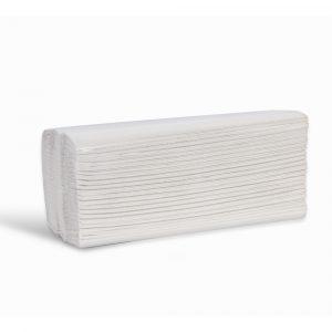 2ply white cfold paper towel