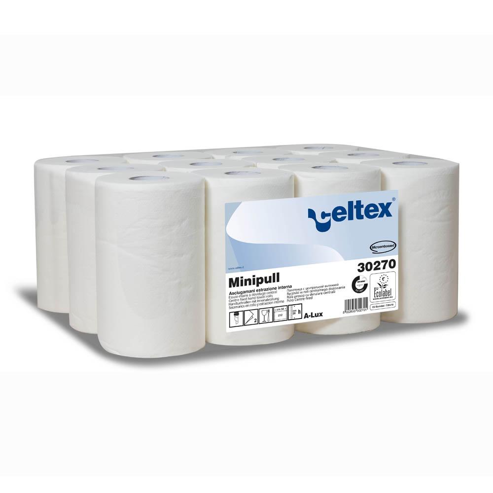 High quality white 1 sheet mini centre feed