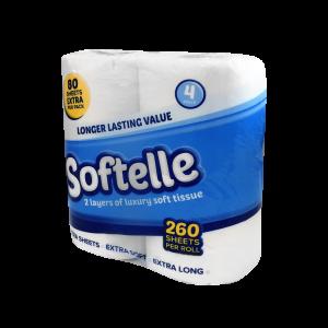 Softelle toilet rolls