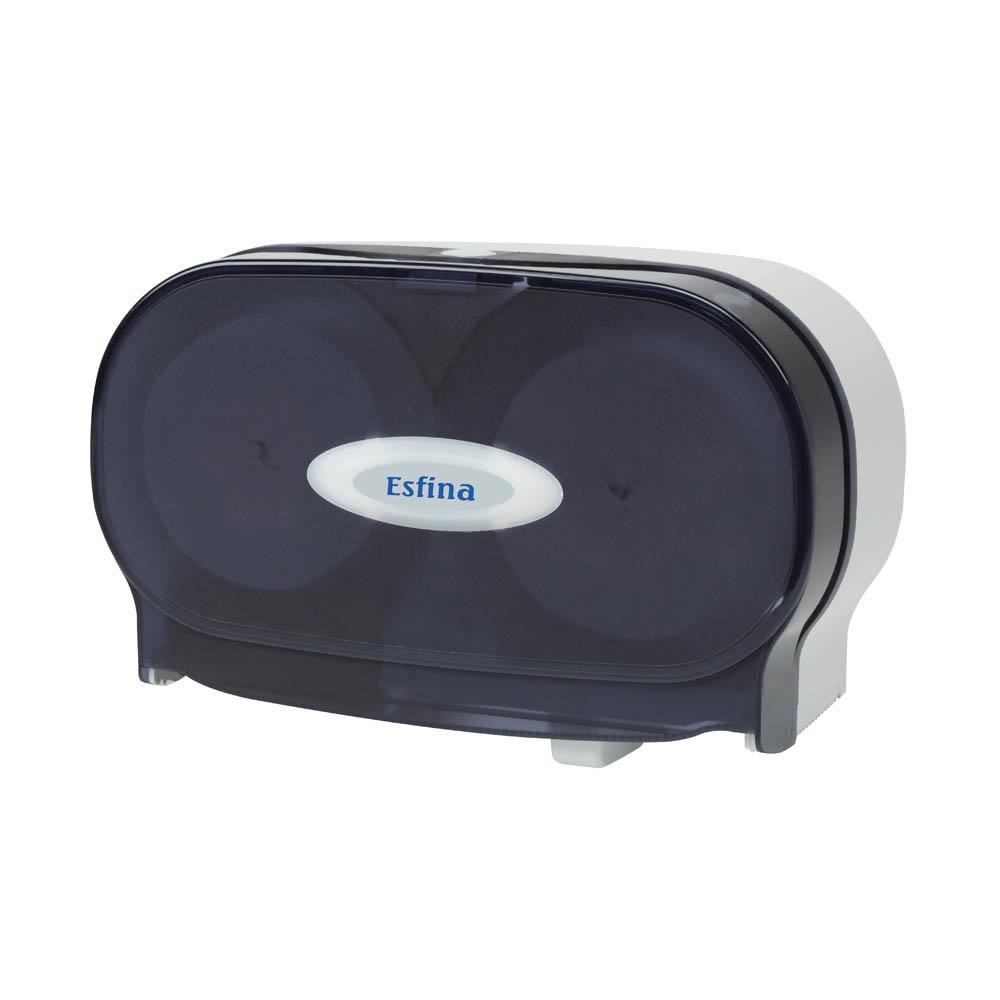 ESR200C Twin Coreless Toilet Roll Dispenser