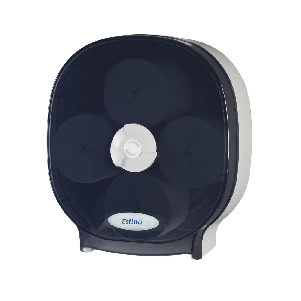 ESR400C Quad core toilet roll dispenser